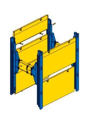 Dobbelt-glideskinne | Lineært system | Serie 750 | sbh