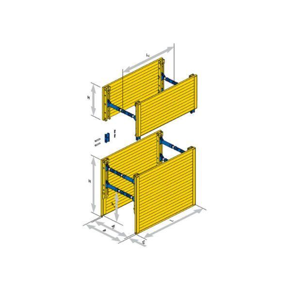 Forstærket letvægt | Serie 300 | Produktbillede | SBH