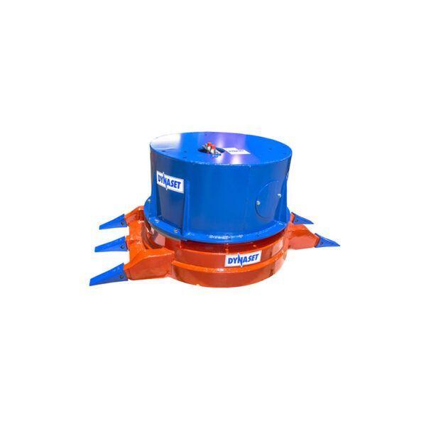 Dynaset hydraulisk magnet med kløer HMAG PRO 700-21-1400-59 serie produktbillede